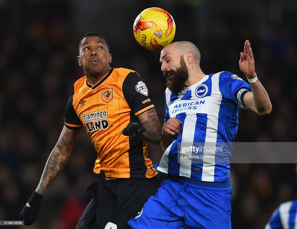 Hull City v Brighton and Hove Albion   - Sky Bet Championship : News Photo