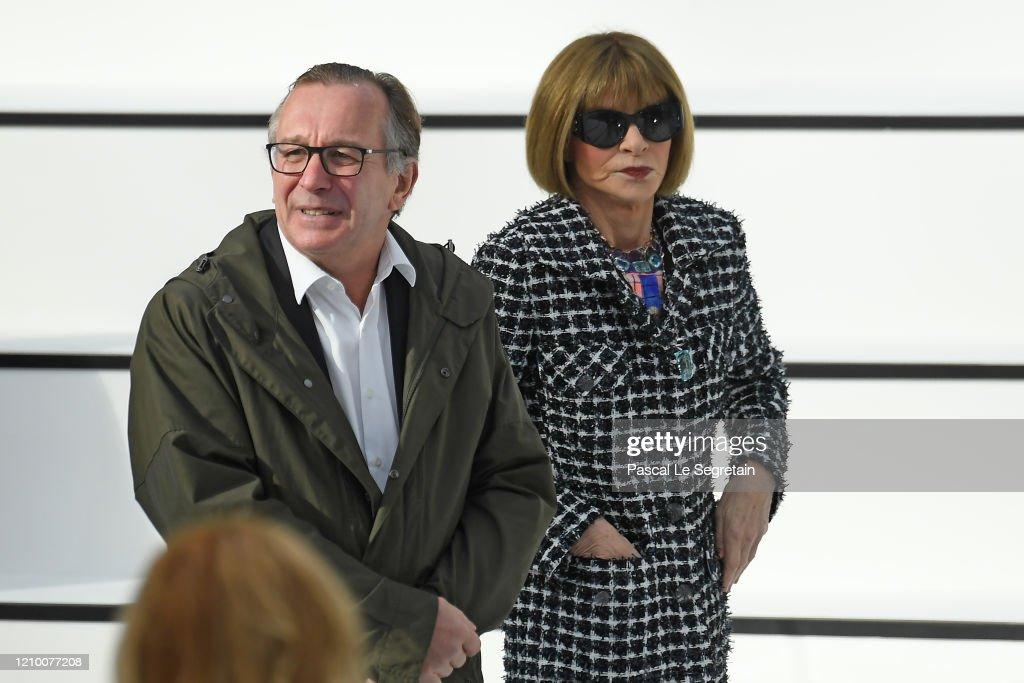 Chanel : Front Row - Paris Fashion Week Womenswear Fall/Winter 2020/2021 : News Photo