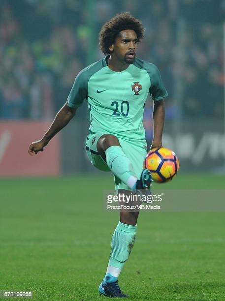 Bruno Paz of Portugal during the under 20 international friendly match between Poland and Portugal on November 9 2017 in Kluczbork Poland