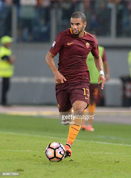 Bruno Peres during the Italian Serie A football match between AS Roma and FC Crotone at the Olympic Stadium in Rome on september 21 2016