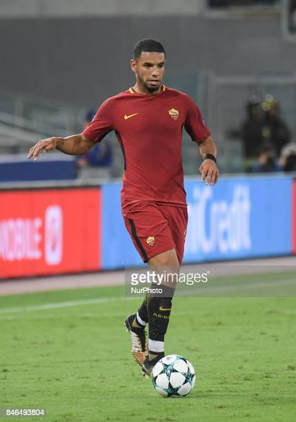 Bruno Peres during the UEFA Champions League group C football match AS Roma vs Atletico Madrid FC at the Olympic Stadium in Rome on september 12 2017
