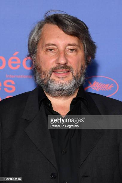 "Bruno Podalydes attends the Best Short Film Palme D'Or Award Ceremony of the ""Special Cannes 2020 : Le Festival Revient Sur La Croisette !"" as part..."