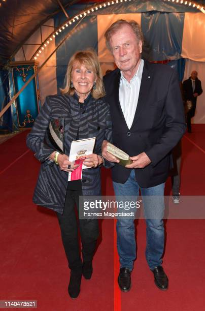 Bruno Reichart and his wife Elke Reichart attend the premiere of new tour program MANDANA Ciruskunst neu getraeumt at Circus Krone on April 04 2019...