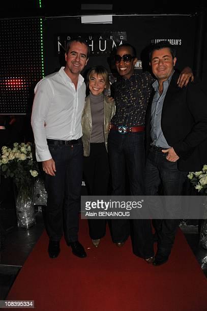 Bruno Robles Nathalie Vincent Vincent McDoom and Jerome Anthony in Paris France on November 28 2008