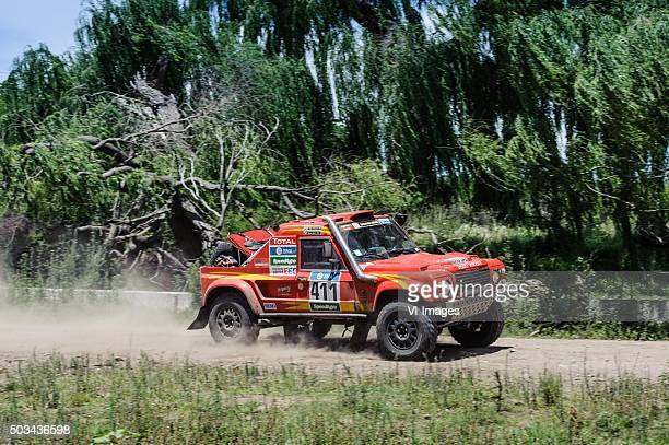 "Bruno Rodi - Glen Thompson RALLYRAID UK Rally Raid UK"",""Le Dakar 2016"",""stage 2 Villa Carlos Paz-Termas de Rio Hondo """