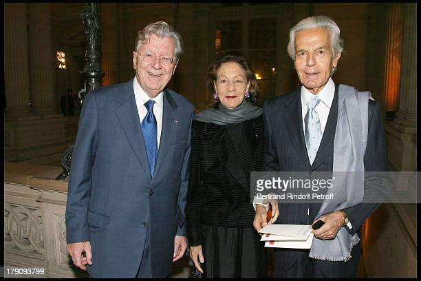 Bruno Roger Jean Pierre Marcie Riviere and wife at AixenProvence Classical Music Gala Festival