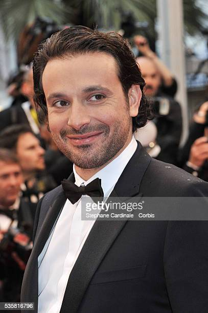 """Bruno Salomon at the premiere for """"Amour"""" during the 65th Cannes International Film Festival."""