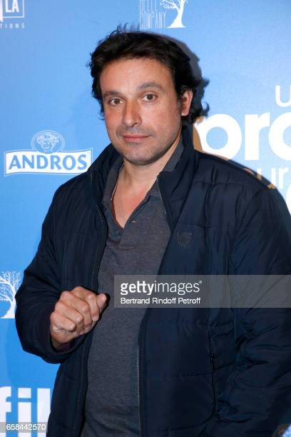 Bruno Salomone attends the 'Un profil pour deux' Paris Premiere at Cinema UGC Normandie on March 27 2017 in Paris France