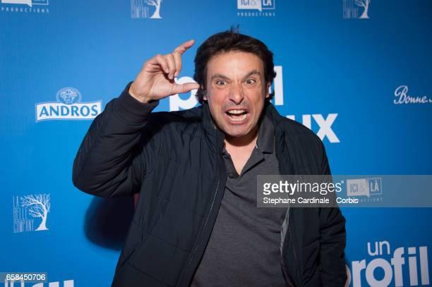 Bruno Salomone attends the 'Un Profil Pour Deux' Premiere at Cinema UGC Normandie on March 27 2017 in Paris France