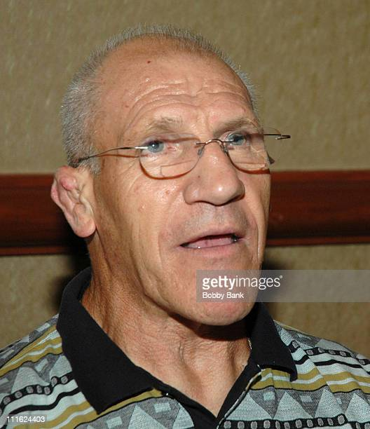 Bruno Sammartino during The 2006 Chiller Theatre's Summer Extravaganza at Crown Plaza Hotel in Secaucus, New Jersey, United States.
