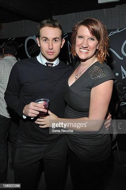 Bruno Schwartz and Diane Orme attend Queer Lounge Hosts 8th Annual Homos Away From Home Party on January 24 2011 in Park City Utah