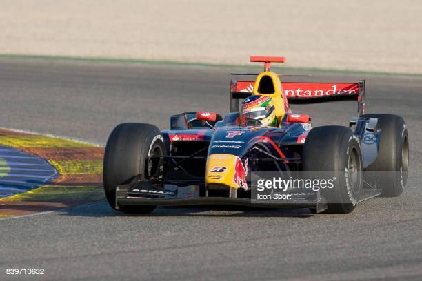 Bruno SENNA Essais des GP2 Series de Valence