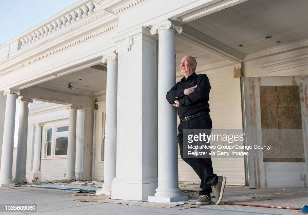 Bruno Serato owner of the Anaheim White House restaurant in Anaheim on Monday January 22 is shown on the front porch of the restaurant which is still...