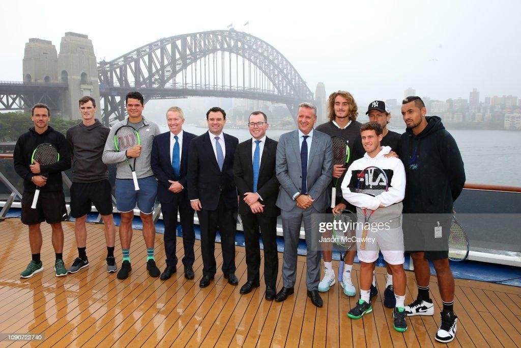 ATP Cup Announcement : Nachrichtenfoto