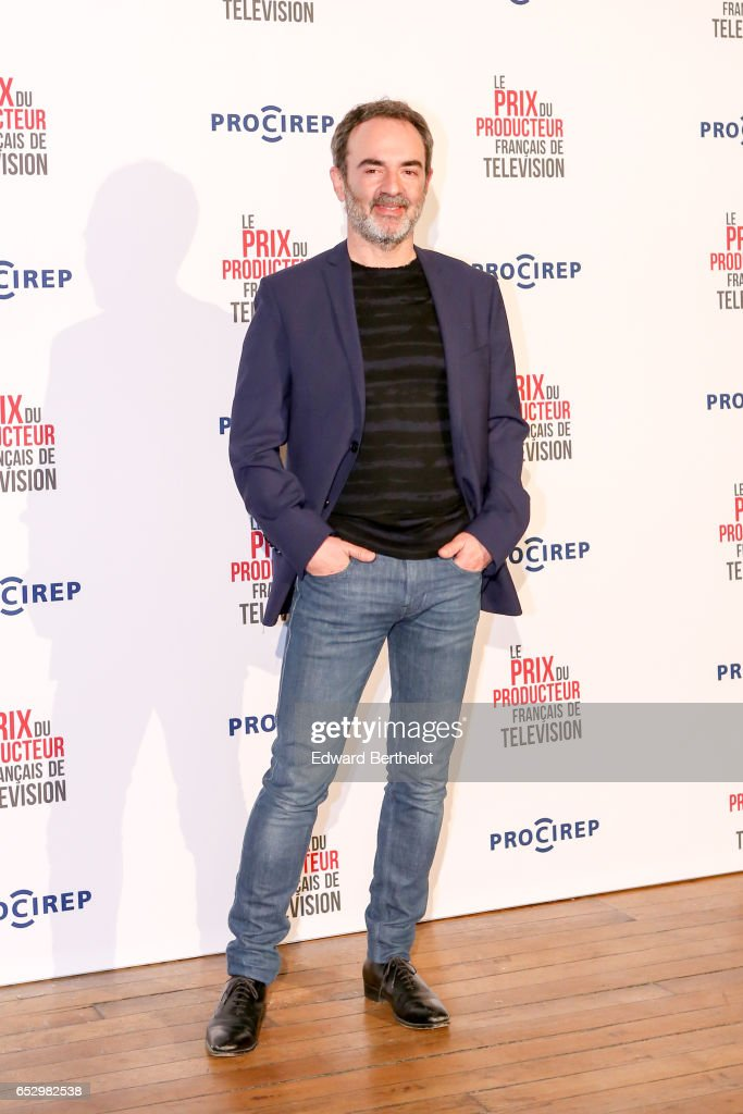 Bruno Solo attends the 23rd Prix Du Producteur Francais De Television, at the Trianon, on March 13, 2017 in Paris, France.