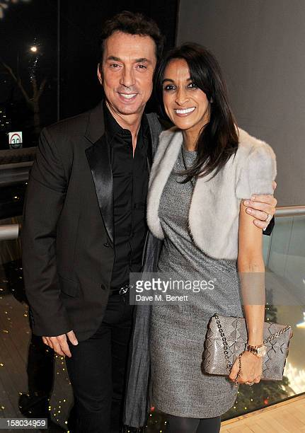 Bruno Tonioli and Jackie St Clair attend an after party following the press night performance of Matthew Bourne's Sleeping Beauty at Sadler's Wells...