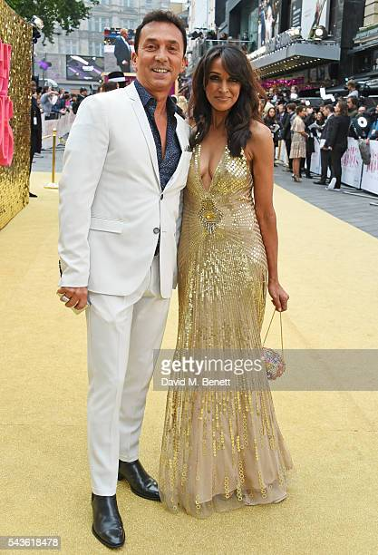 Bruno Tonioli and Jackie St Clair attend the World Premiere of Absolutely Fabulous The Movie at Odeon Leicester Square on June 29 2016 in London...
