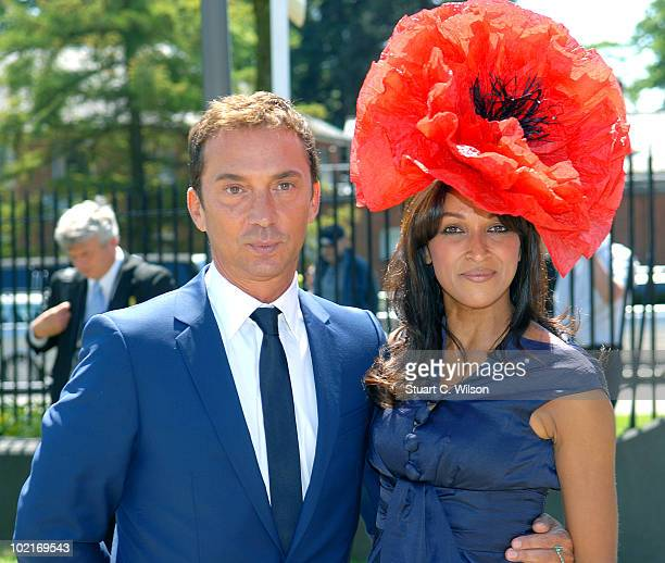 Bruno Tonioli and Jackie St Clair attends Royal Ascot Ladies Day on June 17 2010 in Ascot England