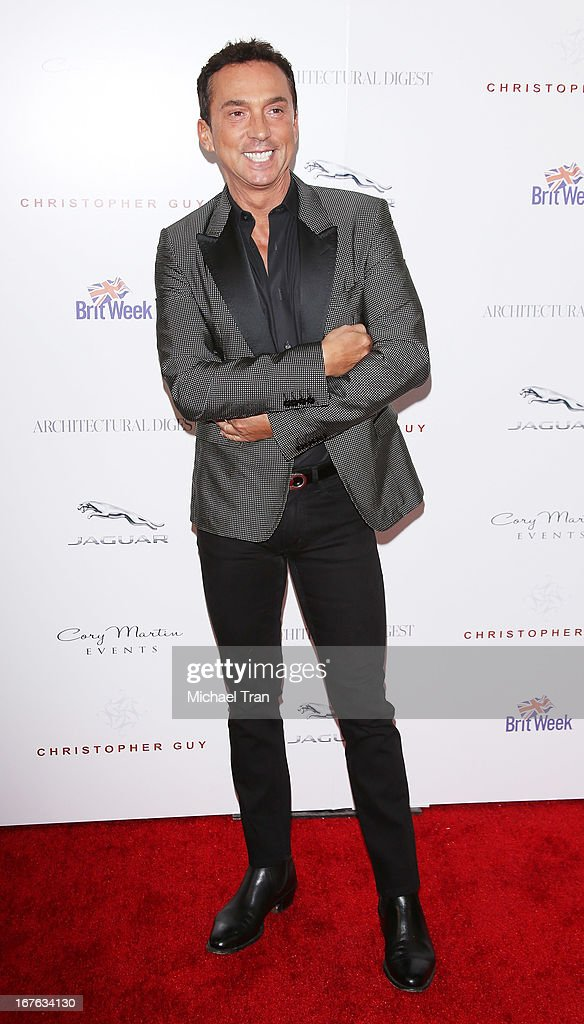 Bruno Tonioli arrives at the 7th Annual Britweek: BritWeek Design Icon Award presentation held at Christopher Guy West Hollywood Showroom on April 26, 2013 in West Hollywood, California.