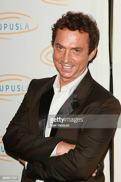 Bruno Tonioli attends the Lupus LA's 2008 Orange Ball at the Beverly Wilshire Hotel on May 1 2008 in Beverly Hills California