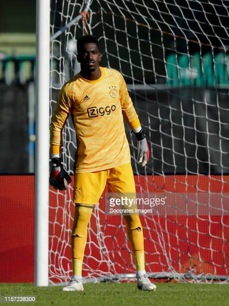 Bruno Varela of Ajax during the Club Friendly match between Ajax v Panathinaikos at the Olympisch Stadium on July 22 2019 in Amsterdam Netherlands