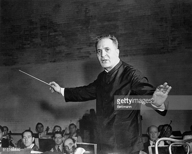 Bruno Walter Opera and Symphony conductor who was named musical adviser of the Philharmonic symphony Society for 194748 is shown The 70 year old...