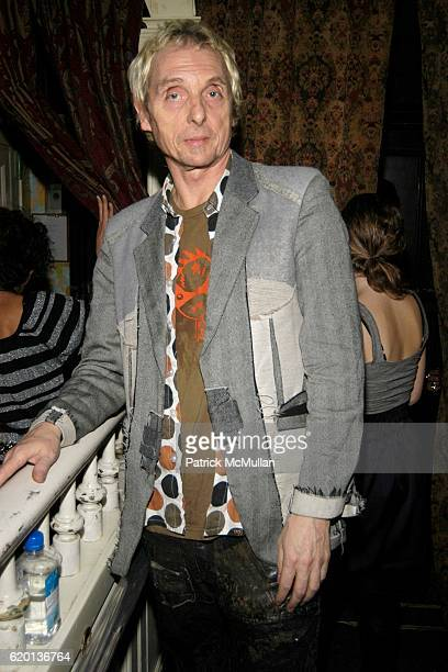 Bruno Wizzard attends The IQONS MAGAZINE Launch Party at The Box on February 3 2008 in New York City
