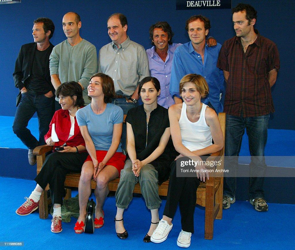 Deauville 2002 - Jury Photocall