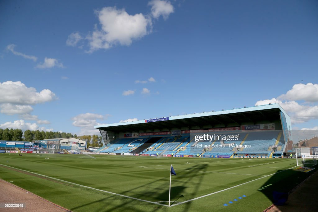 Brunton Park before the Sky Bet League Two Play Off, First Leg match at Brunton Park, Carlisle.