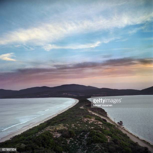 Bruny Island at Sunset