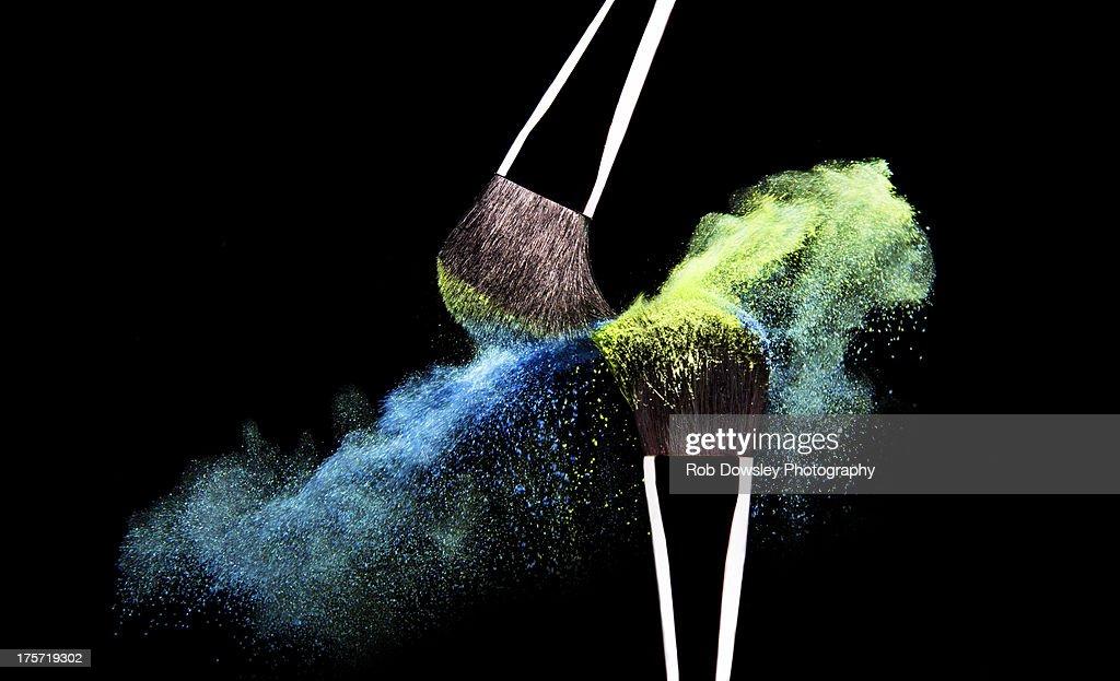 Brush and Powder : ストックフォト