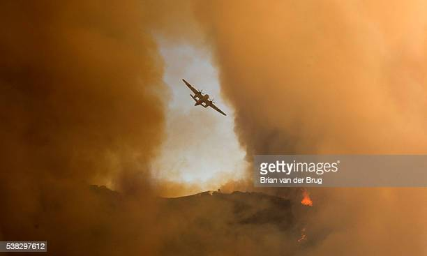 Brush fires broke out in the Calabasas and West Hills areas and shut down southbound lanes of Interstate 15 south of Temecula Parkway on Saturday