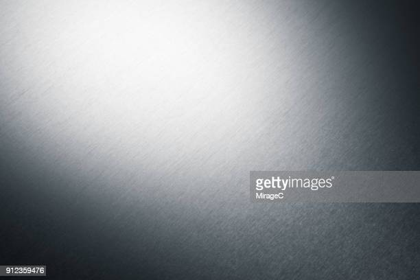 brush metal texture - gray color stock photos and pictures