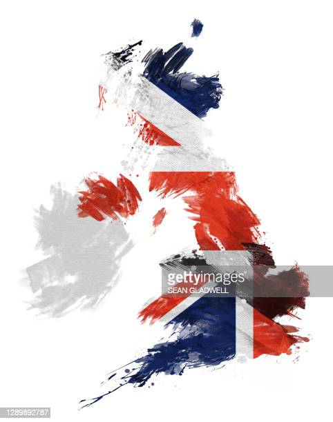 brush stroke uk map - diplomacy stock pictures, royalty-free photos & images