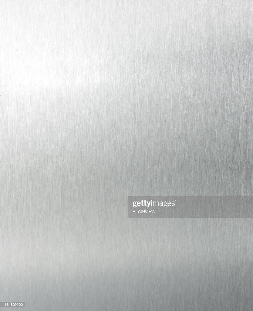 Brushed aluminium XL : Stock Photo