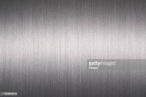brushed aluminum surface - stainless steel stock pictures, royalty-free photos & images