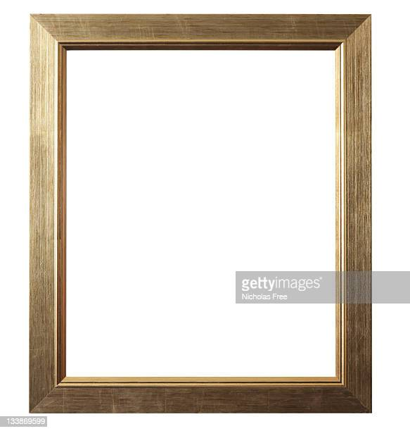 Brushed Gold Picture Frame