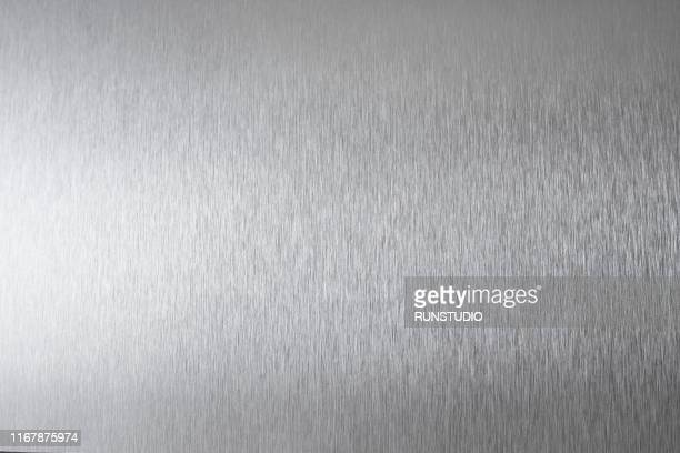 brushed metal surface - stahl stock-fotos und bilder