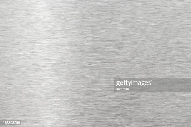 brushed metal texture - metallic stock photos and pictures