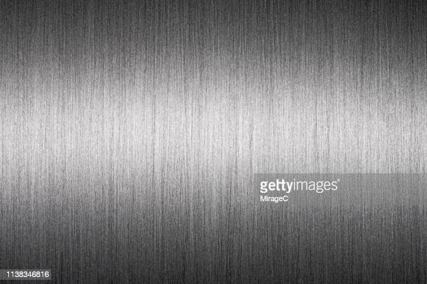 Brushed Metallic Surface Texture
