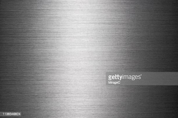 Brushed Metallic Surface Texture