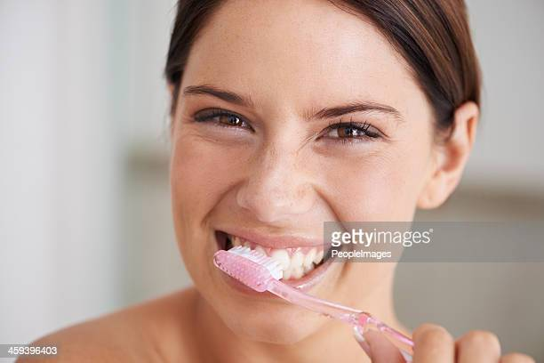 Brushing teeth can be exhilerating