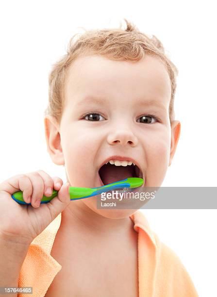 Zähne putzen