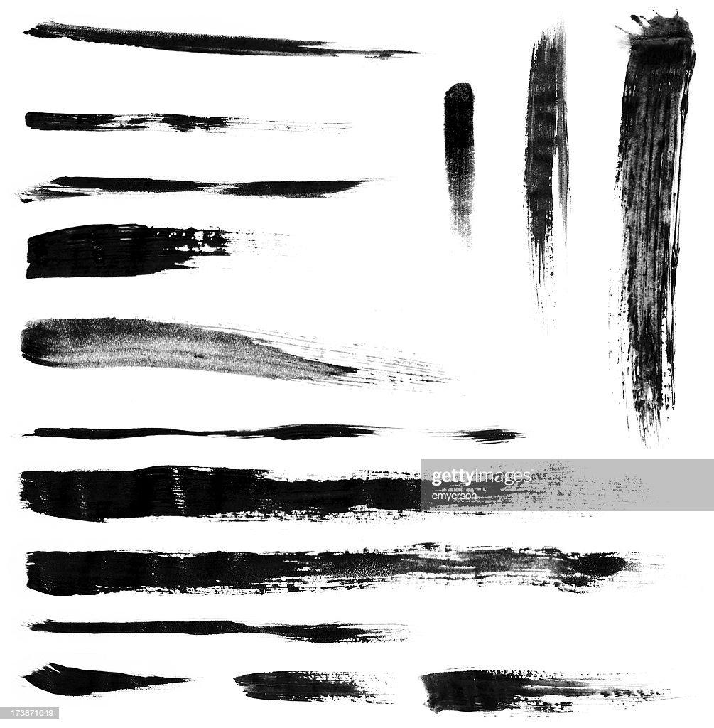 Brushstrokes : Stock Photo