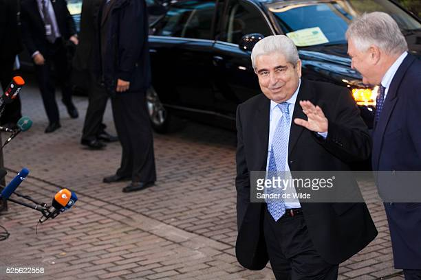Brussels Eurosummit in Brussels about the financial crisis Arrival of the heads of state Dimitris Christofias of Cyprus