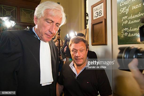 Brussels Belgium 28th August 2012 The appeal hearing on the granting of parole to the exwife and accomplice of Belgian paedophile serial killer Marc...
