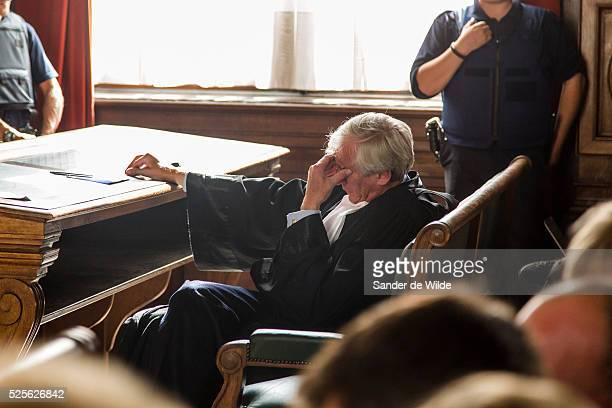 Brussels, Belgium, 28th August 2012. The appeal hearing on the granting of parole to the ex-wife and accomplice of Belgian paedophile serial killer...