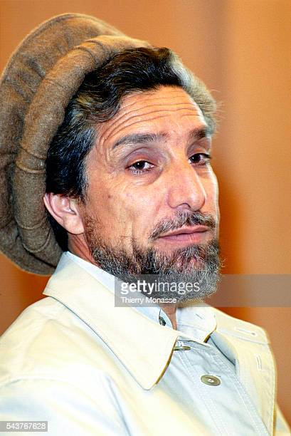 Brussels Belgium April 6 2011 Commander Ahmad Shah MASSOUD waits prior a bilateral meeting with the EU High representative for the CFSP in the EU...