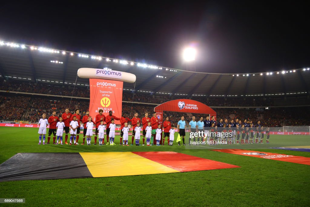 Fifa WC 2018 Qualifying Match : Belgium v Bosnia and Herzegovina : ニュース写真