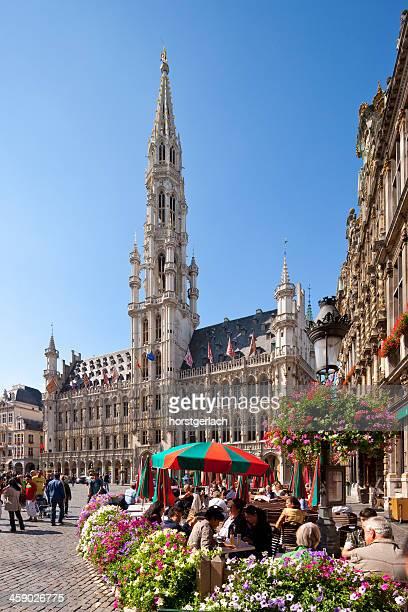 bruxelles, belgique, la grand-place - région de bruxelles capitale photos et images de collection